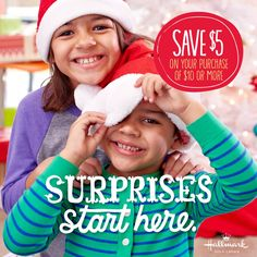 NEW $5 off $10 Hallmark Gold Crown Store Coupon! Save on wrapping paper, ornaments, gifts, and more!
