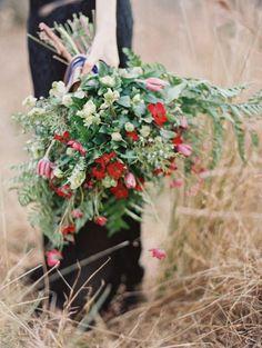 Heirloom vintage black wedding gown inspiration | Wedding Sparrow
