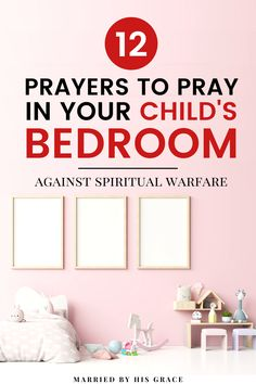 12 Prayers for your child's bedroom when they are in spiritual warfare? How can I war for my children when I am in pain. Prayer For Daughter, Prayer For Mothers, Praying For Your Children, Prayers For Children, Prayer For You, Power Of Prayer, Daily Prayer, Deliverance Prayers, Powerful Prayers