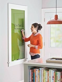 Ditch The Whiteboard And Use Something That Looks Good Too!