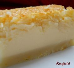 lehetetlen pite konyhalál Impossible Pie, Sweet Recipes, Cheesecake, Muffin, Food And Drink, Cooking Recipes, Cupcakes, Sweets, Homemade