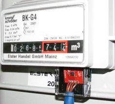 Gaszähler mit Magnetometer HMC5883