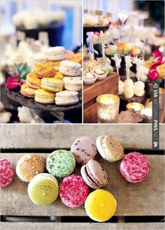 french macaroons | VIA #WEDDINGPINS.NET
