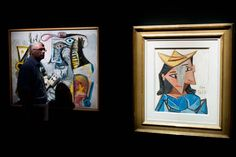 Picasso and Duchamp juxtaposed with each other, interesting... @ModernaMuseet