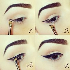 Easy cat eye