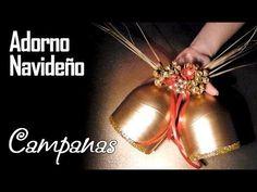Campanas Navideñas con botellas pet - YouTube