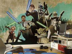 Star Wars graphics for bedroom.