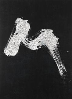 Fabienne Verdier I Paysage d'hiver I, 2013 Ink, pigments and varnish on canvas 183 × 135 cm