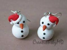 Fimo snowmen