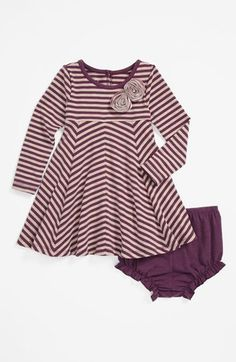 Pippa & Julie Stripe Dress & Bloomers (Baby Girls) | Nordstrom
