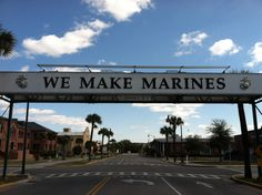 Parris Island, SC...Where Marines Are Made