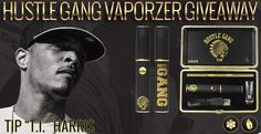 "In celebration of our new Collaboration with Tip ""T.i."" Harris and Hustle Gang, we are giving away 10 Hustle Gang Vaporizers  #hustlegang #grandhustle #whiterhino #whiterhinolife #ti #vaporizer"