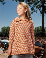 Kids Crochet Patterns: Thistledown Tunic
