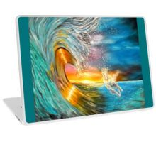 Laptop Skin,  unique,cool,fancy,beautiful,trendy,artistic,awesome,unusual,fashionable,accessories,gifts,presents,ideas,design,items,products,for,sale,blue,colorful,waves,horse,sunset