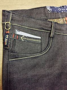 Anak kantong Patterned Jeans, Denim Jeans Men, Cotton Pants, Jeans Style, Kids Outfits, Menswear, Casual, Fashion, Mens Jeans Outfit