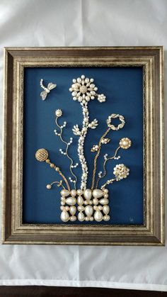 Hey, I found this really awesome Etsy listing at https://www.etsy.com/ca/listing/269301154/vintage-framed-jewelry-art-home-decor