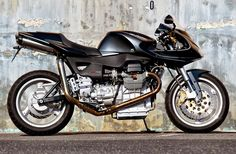 Guzzi V11 Grey by HT moto (via RocketGarage)