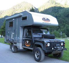 Custom expedition style camper on Land Rover Defender 130 by s_mestdagh, via Flickr