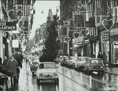 Picking up the Christmas tree... Leidsestraat, Amsterdam 1968...