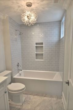 Tub Insert Beach House In 2019 Bathroom Shower Remodel Diy Bathroom Remodel, Bathroom Renos, Bath Remodel, Bathroom Renovations, Bathroom Ideas, Master Bathroom, Mirror Bathroom, Diy Mirror, Bathroom Makeovers