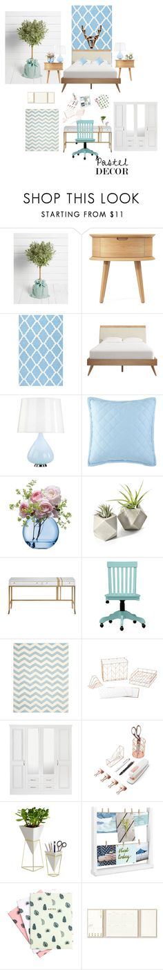 """""""b"""" by thieblemontmorgane ❤ liked on Polyvore featuring interior, interiors, interior design, home, home decor, interior decorating, nuLOOM, Robert Abbey, LSA International and Safavieh"""