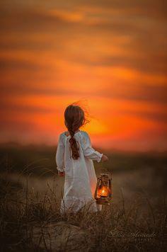 """""""... She always kept the little fire beside her, wherever she walked..."""""""