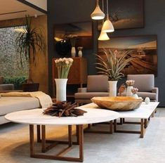 Natural Hotel and Lobby Decor Inspirations - Luxury Design - Natural Hotel and Lobby Decor Inspirations ◼ Find here organic materials and unique furniture ide - Home Interior Design, Interior Styling, Interior Decorating, Kitchen Interior, Tropical Interior, Tropical Decor, Living Room Designs, Living Room Decor, Estilo Interior