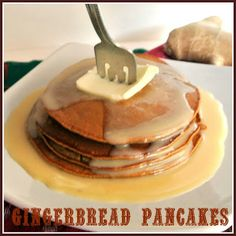 Gingerbread pancakes and a Raclette Giveaway!