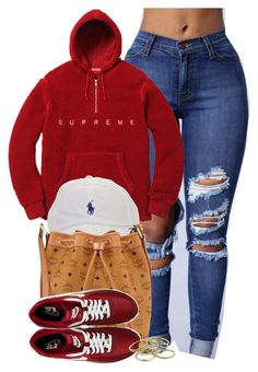 """""""Bad mothafuxker, God complex"""" by cheerstostyle ❤ liked on Polyvore featuring MCM, NIKE and Kendra Scott"""