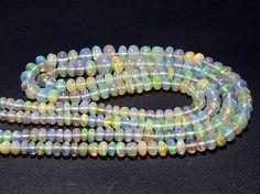 Ethiopian Welo Opal Beads Ethiopian Opal Plain by gemsforjewels