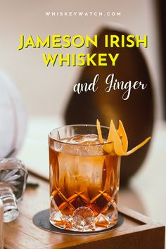 I am a person who loves drinking cocktails, but also enjoys drinking whiskey on the rocks as well, so when you want to serve something you don't drink every single time, this is when you can make a delicious whiskey and ginger that everyone will adore. The recipe? It's pretty easy, and you can find all the details right here.. #whiskeywatch #jamesonirishwhiskey #jamesonwhiskeydrinks #jamesonwhiskeydrinkseasy #jamesonandginger #jamesoncocktails #simplejamesondrinks #jamesonirishlemonade