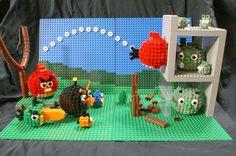 Los Angry Birds en Lego