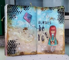 Happy Thursday, all! I just can't get enough of art journaling and I am making a newprojecteach day:) It is addictive! And as I received my orders with new cool stuff, like the gelatos that I'm f...