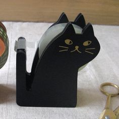 {Black Cat Tape Dispenser} okay, this is too cute!