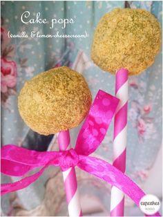 Cake pops (vanilla and lemon cheesecream)
