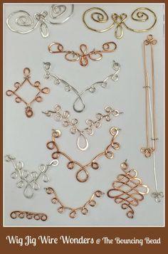 On the Wire Jewelry Wire Jewelry Making, Jewelry Making Tutorials, Wire Wrapped Jewelry, Copper Jewelry, Beaded Jewelry, Handmade Jewelry, Copper Bracelet, Jewelry Tree, Copper Wire