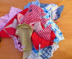 A Patchwork Bag....With Tutorial