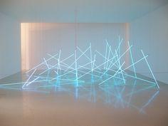 François Morellet's Geometrical Abstract Art.Centre Pompidou Paris.