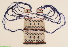Xhosa Beadwork Necklace Glass Beads Amapasi South by africadirect, $180.00