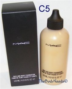 MAC Face and Body Foundation Sample C5