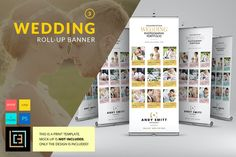 Wedding - Roll-Up Banner 3 by Cooledition on Creative Market Photography Flyer, Quotes About Photography, Photography Portfolio, Photography Business, Wedding Photography, Photography Quotation, Rollup Banner Design, Standee Design, Roll Up Design