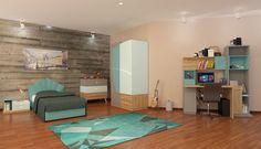 Genç Odası, Genç Odaları, Genç Odası Modelleri - İder Mobilya