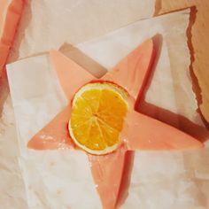 Star shape soap. Christmas gift. Smells lovely