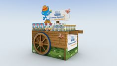 Design proposal for Nestlé baby nutrition brands presence at Sonae's childcare fair.