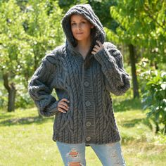 eb1639323 48 Best WOOL Cardigans Luxury Made by EXTRAVAGANTZA images in 2019 ...
