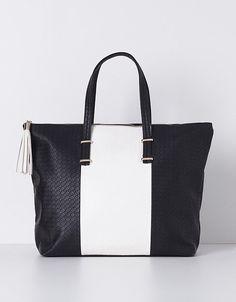 Shopper bicolor