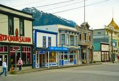 258 features the history and hauntings of the town of Skagway in Alaska! Red Onion Saloon, Golden North Hotel and others! World Of Color, In This World, Alaska Train, Disney Cruise Alaska, Wonderful Places, Beautiful Places, Places Ive Been, Places To Go, Skagway Alaska