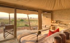 You can count on a once-in-a-lifetime safari at these camps in South Africa, Kenya, Tanzania, and Botswana.