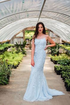 Trendy light blue prom dresses with mermaid style to wear if you want to stand out in a crowd. Perfect for prom,evening,and any other formal affair! Prom Dresses 2017, Mermaid Prom Dresses, Wedding Dresses, Evening Dresses, Light Blue, How To Wear, Formal Wear, Special Occasion, Hot