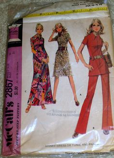Thanks! I made them!: A Few Tips on Scoring Deals on Vintage Patterns and My Latest Finds